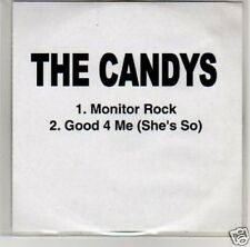 (B504) The Candys, Monitor Rock - DJ CD