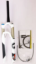 "mr-ride MAGURA TS8 R100 26"" Fork 1390g,Remote Lockout 1- 1/8"" to 1.5"" White"