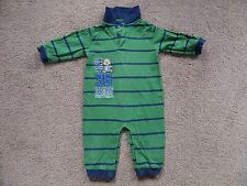 SUPER CUTE!! Baby Boy's CARTER'S Striped Romper All-in-One Outfit 9 mths USA