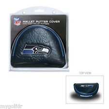 SEATTLE SEAHAWKS NFL Licensed Mallet Putter Golf Club Headcover  SHIPS FREE!