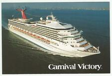 ms Carnival Victory...pc ...cruise ship....CCL great aerial view