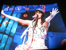 KATY PERRY SIGNED AUTOGRAPH 8x10 PHOTO IN PERSON TEENAGE DREAM PROMO CONCERT D