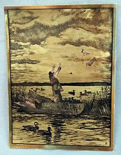Vintage R.H. Palenske Daybreak Gold Foil Etch Print