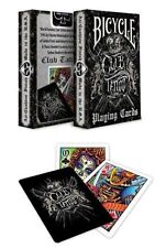 Bicycle Club Tattoo Deck Playing Cards Skin Art Work Flash Ink Collect New