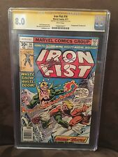 Iron Fist #14 CGC 8.0 SS White Pages WP First Appear Sabretooth X-Men Claremont