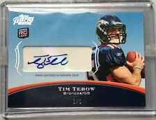 2010 Topps Prime Tim Tebow RC Auto ONLY OF ITS KIND 1/1