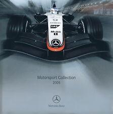Mercedes Motorsport Collection Prospekt 2005 Mode Accessoires Chronograph Cap