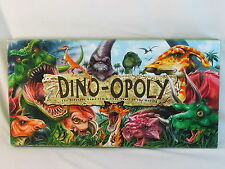 Dino-opoly 2004 Monopoly Board Game Late for the Sky 100% Complete Near Mint