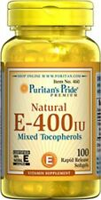 Vitamin E-400 iu Mixed Tocopherols x 100 Softgels - 24 HR DISPATCH