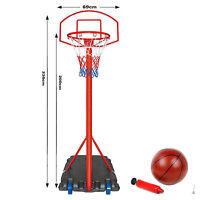 Free Standing Basketball Net Hoop Backboard , Adjustable Stand Set 236 cm Height