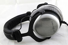 Beyerdynamic DT 880 Pro 250 Ohm Headband Headphones - Silver/Black - Semi Open