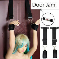 Sex Hand Leg Ankle Restraints Slave Bondage Door Handcuff Swing Fetish Adult Toy