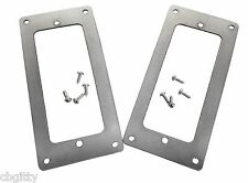 2pc. Stainless Steel Pickup Rings Mini Humbuckers - Made in the USA!  #51-089-01