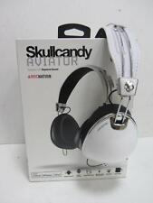 SKULL CANDY (S6AVFM-158) AVIATOR ROCNATION HEADBAND HEADPHONES - MARBLE WHITE