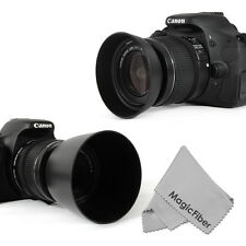 EW-60C + ET-60 Dedicated Lens Hood Set for Canon 18-55mm & 55-250mm