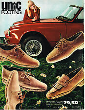 PUBLICITE ADVERTISING 034   1967    UNIC    chaussures FOOTING