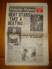 MELODY MAKER 1960 MAY 21 SAMMY DAVIS DIAHANN CARROLL