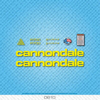 Cannondale R700 Bicycle Decals - Transfers - Stickers - Yellow - Set 0610