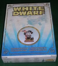 OOP Limited Edition Warhammer Aviator Dwarf White Dwarf Subscription Model 2011