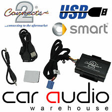Connects2 CTAMSUSB001 Smart ForTwo 99  USB SD AUX IN Car Interface Adaptor