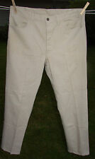 Vintage Levi's STA-PREST Big E Black & Gold Tag 36 x 30 Tan/Khaki Colored Pants