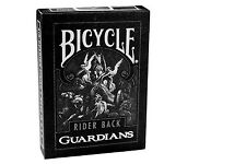 Bicycle Guardians playing cards by Theory11 Black Magic Cardistry Deck Guardian