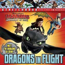 DreamWorks: Defenders of Berk: Dragons in Flight Stretchbook Dragons: Defenders