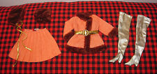 1969 VTG. HTF BARBIE~*WINTER WOW*~COMPLETE 7 Pc.Set~1486~RARE+Excellent Ensemble