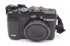 Canon PowerShot G16 12.1 MP Digital Camera - Black
