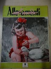 RIVISTA MENSILE ALLEVAMENTI NEL MONDO N.9 ANNO 1951 zootecnica- A11