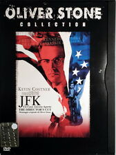 JFK UN CASO ANCORA APERTO - Stone 2 DVD Costner Bacon Jones Oldman Spacek OOP
