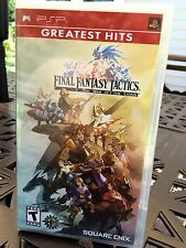 FINAL FANTASY TACTICS: WAR of the LIONS / PSP / ALL NEW, AAA SELLER, FREE SHIP!!