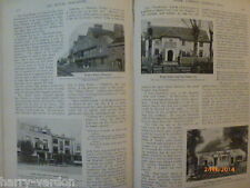 Famous London Inns Pubs Taverns Tom Browne Prayer Wheel Victorian Articles 1899