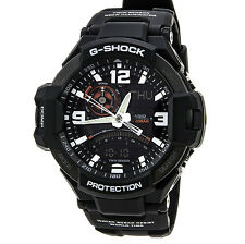 New Casio G-Shock GA1000-1A Aviation Compass Twin Sensor Thermometer Mens Watch