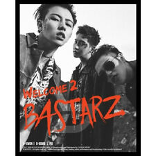 BLOCK B BASTARZ-[WELCOME 2 BASTARZ] 2nd Mini Album CD+Photo Book+Card Sealed