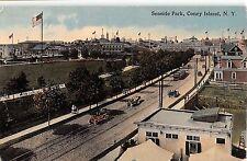 c.1910 BEV Homes Seaside Park Coney Island NY post card Brooklyn