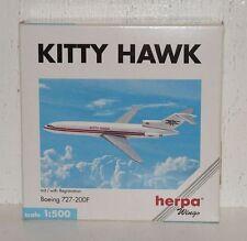 HERPA wings Kitty Hawk Boeing 727-200f avec registration 1:500 503105