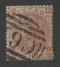 Z102. 10d red-brown. Puerto Rico Used Abroad. C61 oval cancel. Fine used.