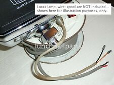 NOS Lucas foglamp repair wire 1968 Ford Mustang California Special GTCS Autolite