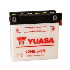 Batteria Yuasa 12N5.5-3B 12v/6Ah + 1Lt Acido CAGIVA SXT Aletta Rossa 125 82>