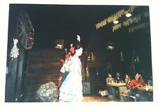 Vintage Photography PHOTO GERMAN FOLK DANCER GIRLS ENTERTAINING CHINESE TOURISTS