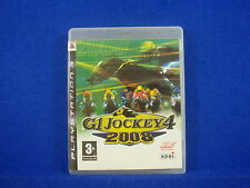 ps3 G1 JOCKEY 4 2008 Horse Racing Game Playstation 3 PAL VGC