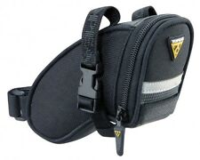 Topeak Aero Wedge Pack Under Saddle / Seat Bag Pack with Straps - Micro
