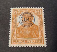 "GERMANIA,GERMANY D.REICH PLEBISCITO 1920 OVP "" C.I.H.S."" 7,5 c MH RARE signed"