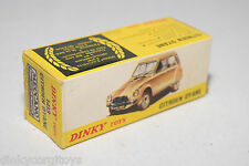 DINKY TOYS 1413 CITROEN DYANE ORIGINAL EMPTY BOX NEAR MINT CONDITION