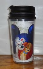 LADY AND THE TRAMP TRAVEL MUG. 11.5 oz  DISNEY CARTOONS. TUMBLER MUG.