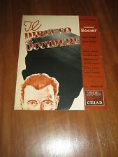 BROCHURE,1950,Il diritto di uccidere,In a Lonely Place,Ray,Bogart,Grahame