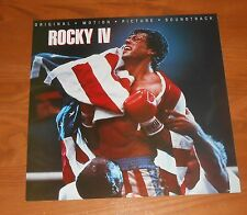 Rocky IV Soundtrack Movie Poster 2-Sided Flat Square 1985 Promo 12x12 RARE