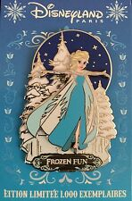 DISNEY PIN ELSA FROZEN FUN PARIS DLRP PIN TRADING DAY FETE GIVREE LE 1000