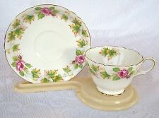 Shelley England 'ROYALTY' Bone China Tea  Cup & Saucer (473)